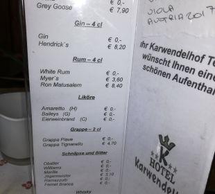 Restaurant Hotel Karwendelhof