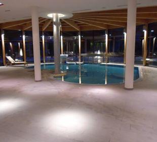 Klein aber sehr ruhig und entspannend Spa Hotel Zedern Klang