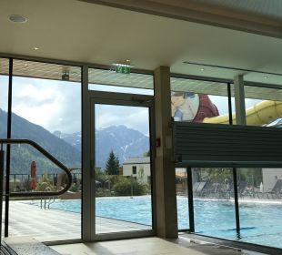 Pool Rieser's Kinderhotel Buchau