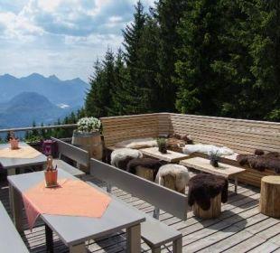 Hoteleigene Berghütte auf 1.320 m Hotel Das Rübezahl