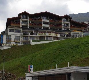 Hotel vom Dorf aus Hotel Bellevue & Austria