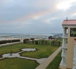 Blick aus dem Fenster Morada Strandhotel Ostseebad Kühlungsborn