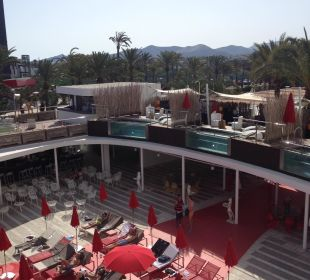 Poolbereich Ushuaia Ibiza Beach Hotel - The Tower / The Club