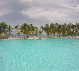 Pool Mit Ausblick Zum Meer  Dreams La Romana Resort & Spa