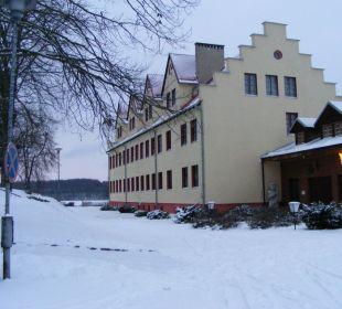 Außenansicht Nebenhaus Hotel Zamek Karnity