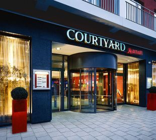 Aussenansicht Hotel Courtyard by Marriott München City Center
