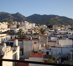 Panorama über die Altstadt - Zimmer 601 Hotel San Cristobal