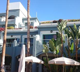 Blick vom Pool Adrián Hoteles Colón Guanahaní