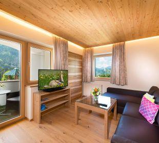 Berghof-Suite - Wohnzimmer Verwöhnhotel Berghof