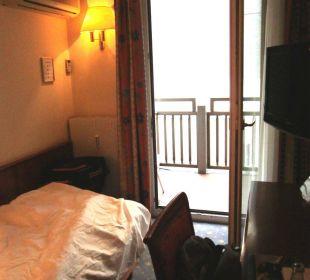 Blick zum Balkon Hotel Capricorno