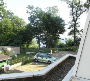 Blick vom Balkon zur Ostsee Inselhotel Rügen B&B