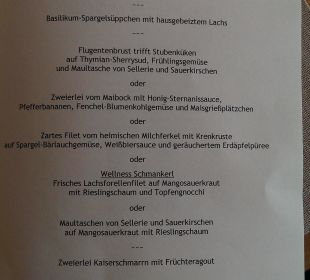 Hhhmmmm Lecker  Wohlfühlhotel Ortnerhof