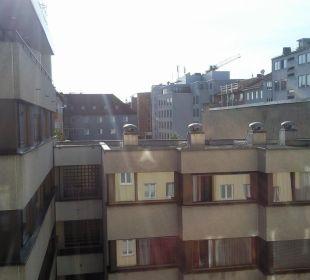 Blick hofseitig Hotel Monaco