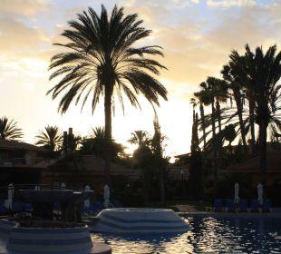 Blick über uneren Pool Dunas Suites&Villas Resort