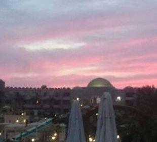 Sonnenuntergang Richtung Hotel Hotel Utopia Beach Club