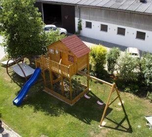 Ausblick auf unseren Hof Ferienwohnungen Am Arkadenhof
