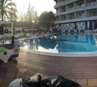 Abendlicher Ruhestand ... Hotel Serrano Palace