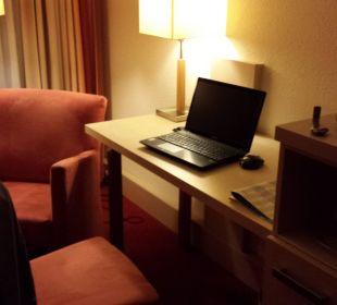 Schreibtisch... Hotel am Kurpark