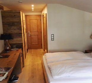 Zimmer in Holzoptik Berghotel Madlener