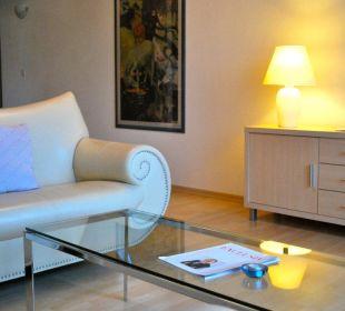 Wohnzimmer einer Grandsuite Hotel Panorama Valbella (geschlossen)