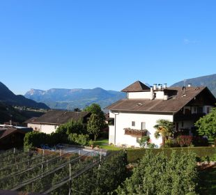 Ausblick vom Zimmer Hotel Zirmerhof