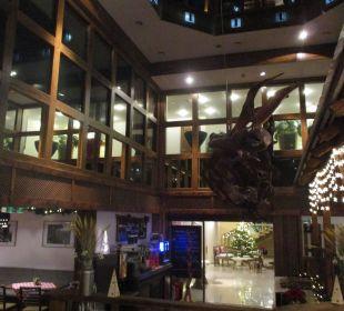 Das Restaurant Blickrichtung Eingang ENZIANA Hotel Vienna