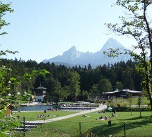 Aschauer Weiher Langlauf- oder Badeparadies Ferienwohnung Haus Rosenrot