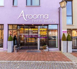 Außenansicht Hotel Arooma