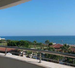 Blick vom Balkon Hotel Alba Royal
