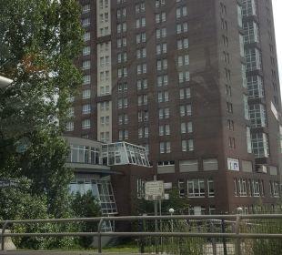Außenansicht Hotel Holiday Inn Hamburg