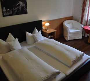 Schlafbereich Junior Suite Hotel Garni Malerwinkl