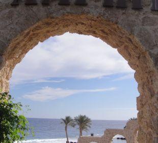 Vom Palmenpool Richtung Strand/Meer