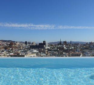 Pool auf dem Dach Hotel Andante