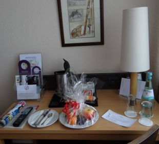 Welcome plate Mercure Hotel Garmisch Partenkirchen