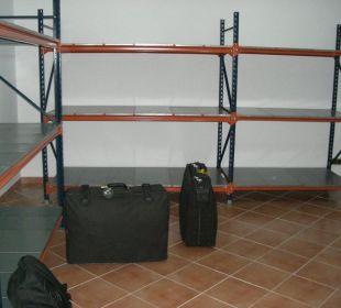 Koffer-Abstellraum Hotel Don Antonio