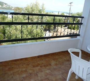 Balkon Zimmer 344 Hotel Paradise Corfu