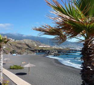 Grober, kieselartiger Sand Hotel Hacienda San Jorge