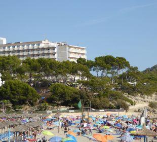 Hotel mit längerem Strand der einen Seite Universal Hotel Lido Park