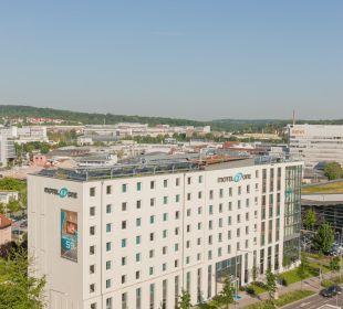 Außenansicht Motel One Stuttgart