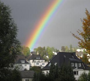 Regenbogen über Meschede Hapimag Resort Winterberg