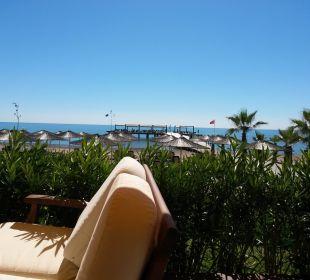 Strand und Steganlage von Neptunbar Gloria Verde Resort