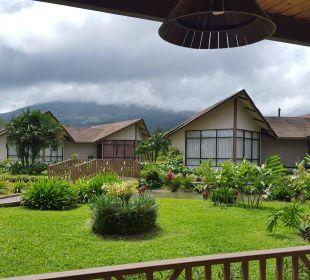 Terrasse vorn Hotel Montana de Fuego