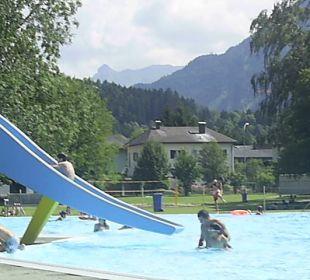 Freibad mit Wasserrutsche Val Blu Resort Spa & Sports