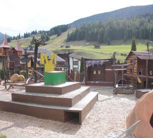 Toller Spielplatz Leading Family Hotel & Resort Alpenrose