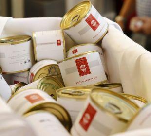 Hauseigene Leberwurst zum Verkauf Weinhaus Henninger Hotel