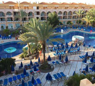 Poolblick aus Etage 3, Haus B Hotel Mirador Maspalomas Dunas