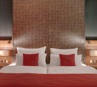 Luxury Suite Schlafbereich Amedia Luxury Suites Graz