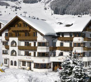 Außenansicht Winter Hotel Garni Belmont