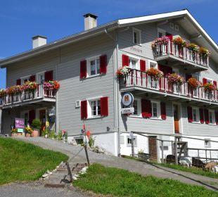 Aussenansicht September 2014 Gasthaus Alpina