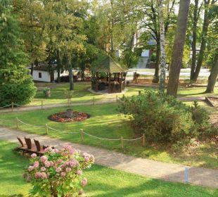Ausblick Ostseehotel Villen im Park